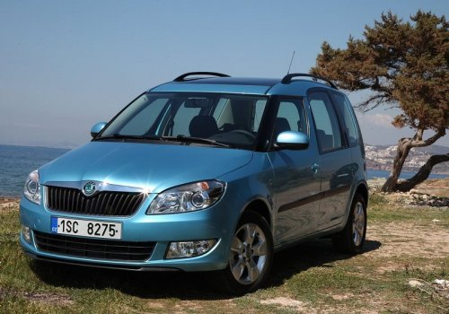 Skoda Roomster front