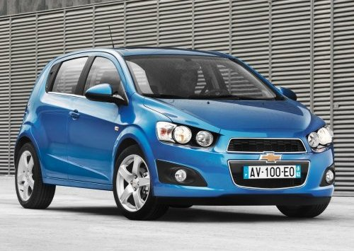Chevrolet-Aveo 3 hatch