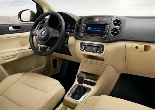 Volkswagen Golf Plus interior