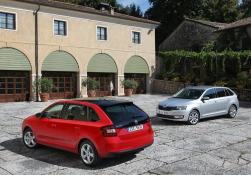 Skoda Rapid Spaceback all