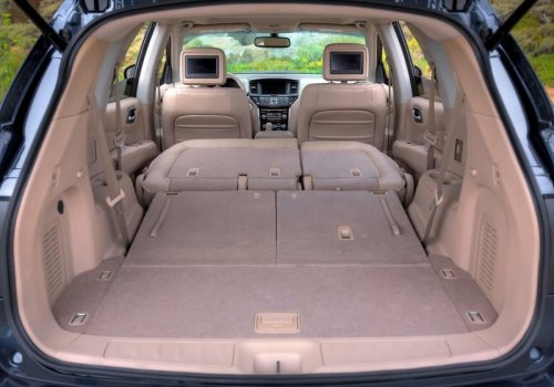 Nissan Pathfinder new interior