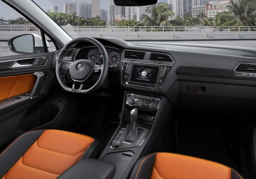 Volkswagen Tiguan new  interior
