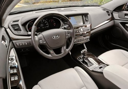 Kia Cadenza new interior