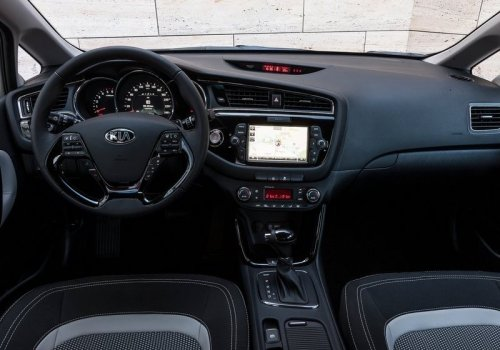 Kia Ceed new interior